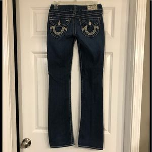True Religion Boot Cut Jeans- size 26